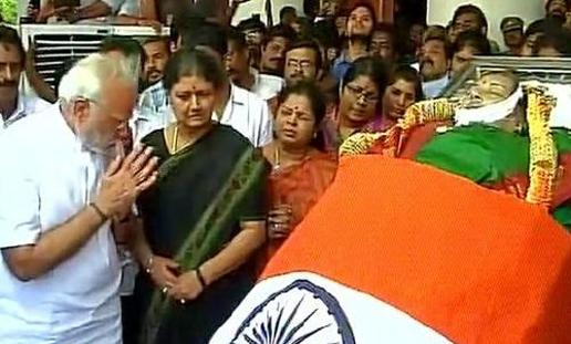 Nation pays homage to Jayalalitha – An Iconic Film Actress turned Politician without Parallel