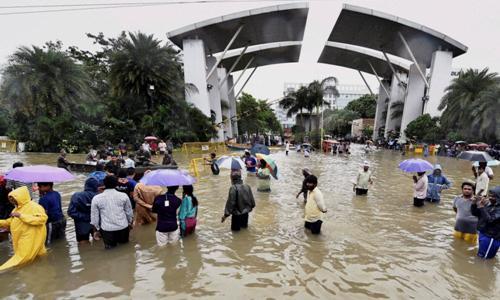 Rains Unprecedented in 100 Years at Chennai