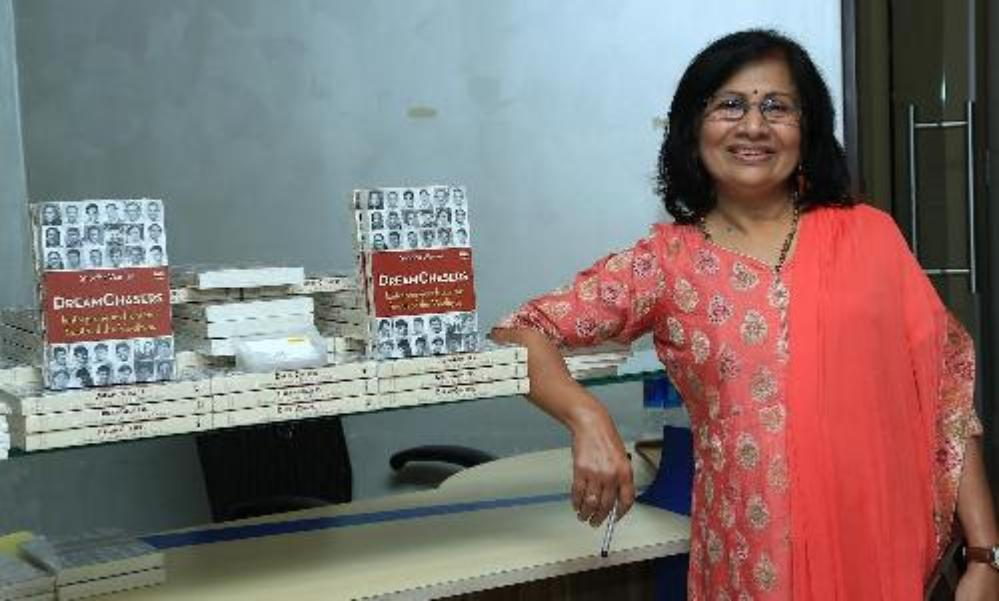 'Dreamchasers:  Entrepreneurs from the South of the Vindhyas' authored by Shobha Warrier